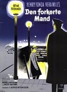 The Wrong Man - Danish Movie Poster (xs thumbnail)