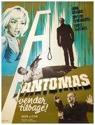 Fantômas se dèchaîne - Danish Movie Poster (xs thumbnail)