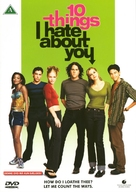 10 Things I Hate About You - Danish DVD movie cover (xs thumbnail)