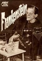 Frankenstein - German poster (xs thumbnail)