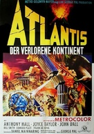 Atlantis, the Lost Continent - German Movie Poster (xs thumbnail)