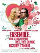 Ensemble, nous allons vivre une très très belle histoire d'amour - French Movie Poster (xs thumbnail)