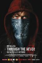 Metallica Through the Never - French Movie Poster (xs thumbnail)