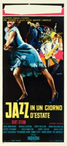 Jazz on a Summer's Day - Italian Movie Poster (xs thumbnail)