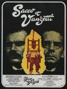 Sacco e Vanzetti - French Movie Poster (xs thumbnail)