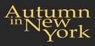 Autumn in New York - Logo (xs thumbnail)