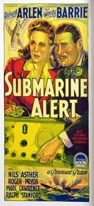 Submarine Alert - Australian Movie Poster (xs thumbnail)