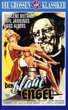Der blaue Engel - German VHS movie cover (xs thumbnail)
