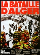 La battaglia di Algeri - French Movie Poster (xs thumbnail)