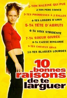 10 Things I Hate About You - French Movie Cover (xs thumbnail)