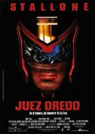 Judge Dredd - Spanish Movie Poster (xs thumbnail)