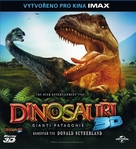 Dinosaurs: Giants of Patagonia - Czech Blu-Ray cover (xs thumbnail)