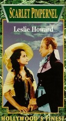 The Scarlet Pimpernel - VHS cover (xs thumbnail)