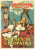 Due notti con Cleopatra - Spanish Movie Poster (xs thumbnail)