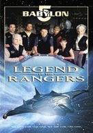 Babylon 5: The Legend of the Rangers: To Live and Die in Starlight - DVD cover (xs thumbnail)
