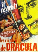 Scars of Dracula - French Movie Poster (xs thumbnail)