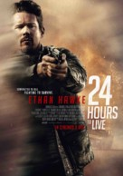 24 Hours to Live - Malaysian Movie Poster (xs thumbnail)
