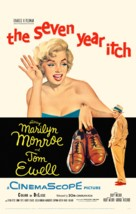 The Seven Year Itch - poster (xs thumbnail)