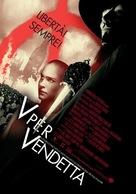 V For Vendetta - Italian Movie Poster (xs thumbnail)