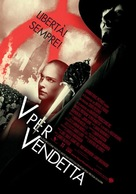 V For Vendetta - Italian Movie Poster (xs thumbnail)