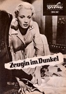 Witness in the Dark - German poster (xs thumbnail)