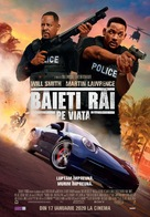 Bad Boys for Life - Romanian Movie Poster (xs thumbnail)