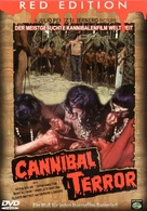 Terreur cannibale - German DVD cover (xs thumbnail)