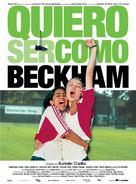 Bend It Like Beckham - Spanish Movie Poster (xs thumbnail)
