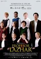 Monsieur Lazhar - Spanish Movie Poster (xs thumbnail)