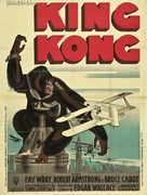 King Kong - French Theatrical poster (xs thumbnail)
