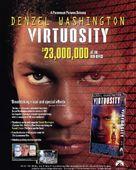 Virtuosity - Video release movie poster (xs thumbnail)