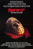 Friday the 13th: The Final Chapter - British Movie Poster (xs thumbnail)