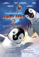 Happy Feet Two - Polish Movie Poster (xs thumbnail)