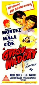 Gypsy Wildcat - Australian Movie Poster (xs thumbnail)