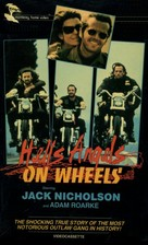 Hells Angels on Wheels - VHS movie cover (xs thumbnail)