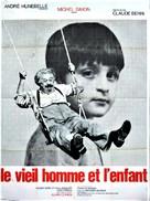 Le vieil homme et l'enfant - French Movie Poster (xs thumbnail)