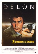 3 hommes à abattre - French Movie Poster (xs thumbnail)