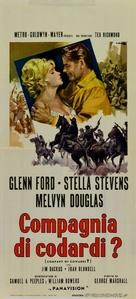 Advance to the Rear - Italian Movie Poster (xs thumbnail)