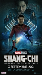 Shang-Chi and the Legend of the Ten Rings - Romanian Movie Poster (xs thumbnail)