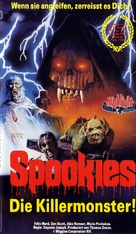 Spookies - German VHS cover (xs thumbnail)