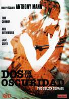 Two O'Clock Courage - Spanish DVD movie cover (xs thumbnail)