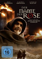 The Name of the Rose - German DVD cover (xs thumbnail)