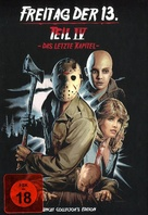 Friday the 13th: The Final Chapter - German Blu-Ray movie cover (xs thumbnail)