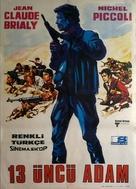 Un homme de trop - Turkish Movie Poster (xs thumbnail)