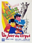 At the Circus - French Movie Poster (xs thumbnail)