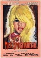 En effeuillant la marguerite - Italian Movie Poster (xs thumbnail)