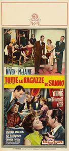 Ask Any Girl - Italian Movie Poster (xs thumbnail)