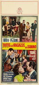 Ask Any Girl - Italian Movie Poster (xs thumbnail)