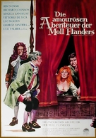 The Amorous Adventures of Moll Flanders - German Movie Poster (xs thumbnail)
