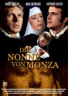 La monaca di Monza - German DVD cover (xs thumbnail)